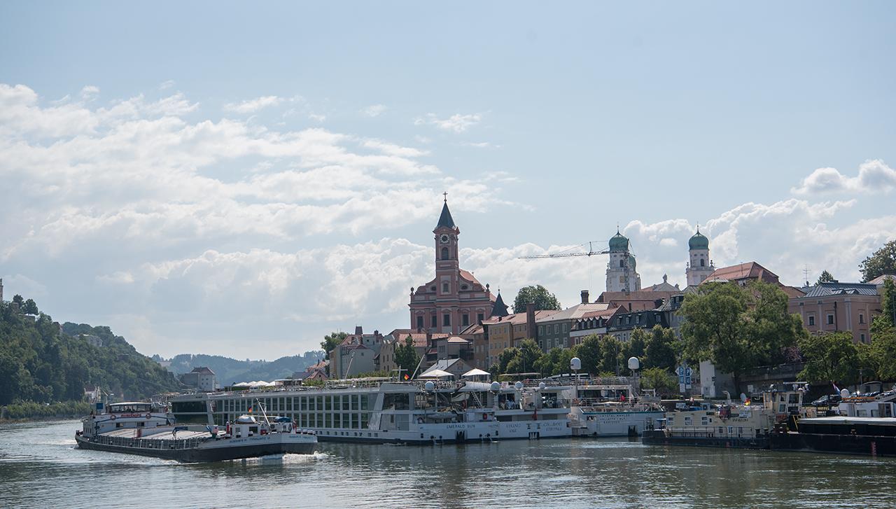 Passau i Tyskland.