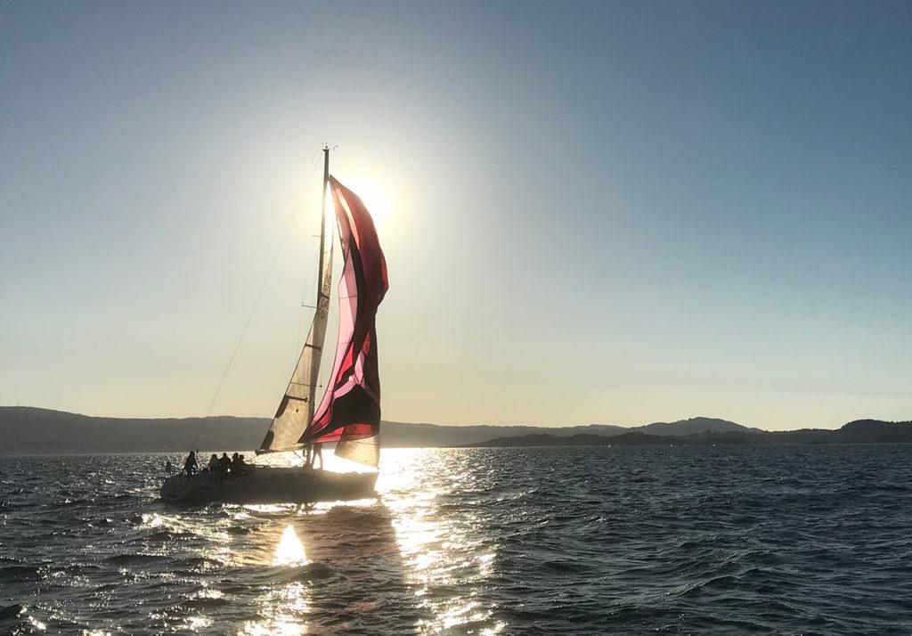 Flott vårdag på fjorden