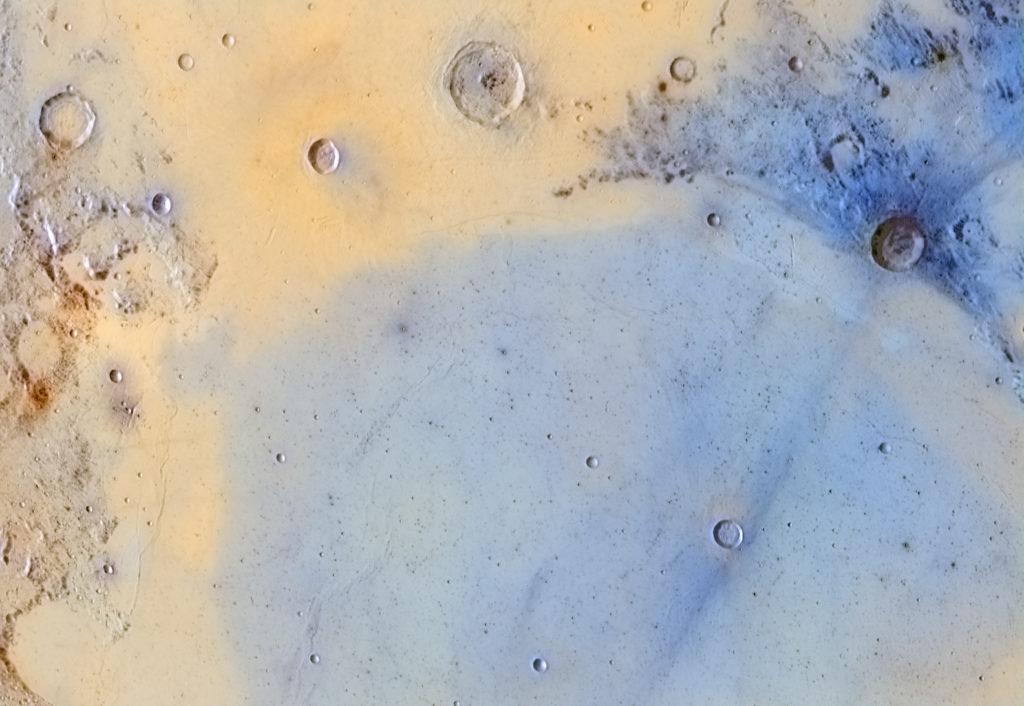 MÅNEN: Inverted Colours of the Boundary between Mare Serenitatis and Mare Tranquilitatis © Jordi Delpeix Borrell