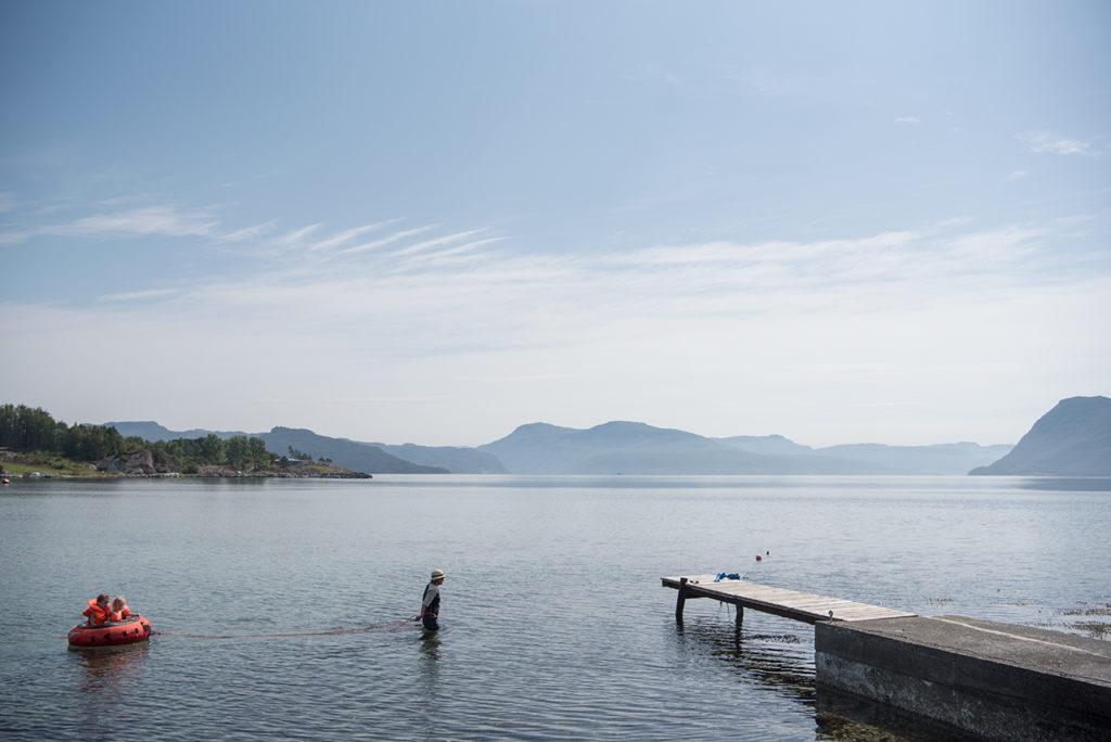 Sommer på Foldøy