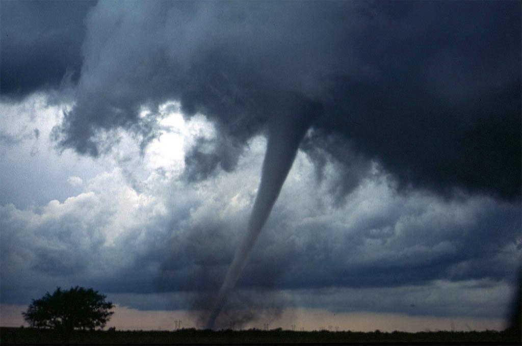 Tornado i Oklahoma. Foto: Daphne Zaras / NOAA