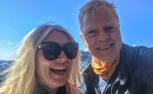 Eli Kari Gjengedal og Ronld Toppe