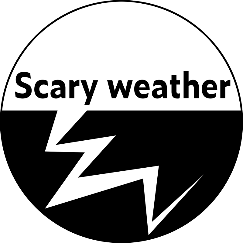 Scary weather